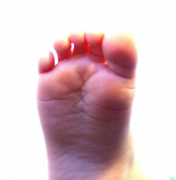 Two and a Half Year Old Toes