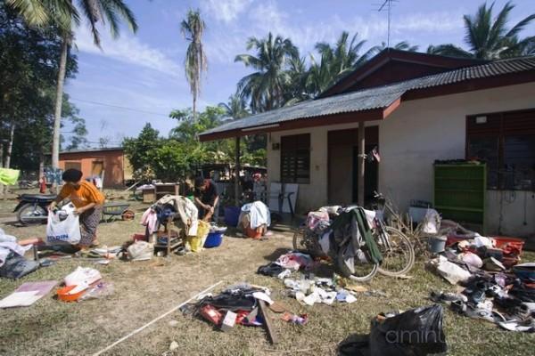 Post-flood Disaster