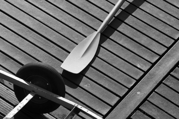 Rowing boat paddle