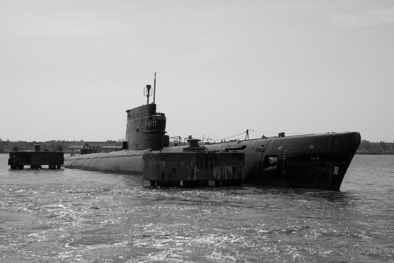 old submarine