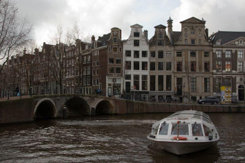 Amsterdam Tourist boat