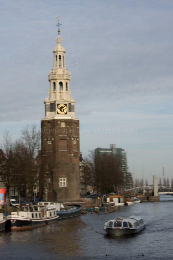 Montelbaarstoren in the center of Amsterdam