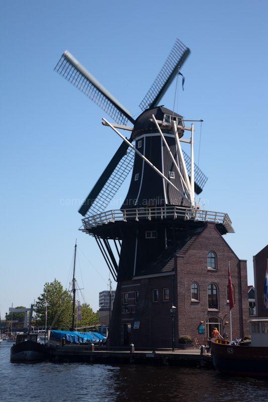 "The Windmill ""De Ardiaan"" in Haarlem"