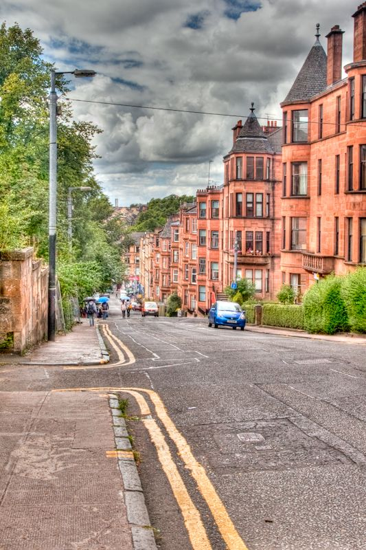 Great George Street Glasgow Scotland