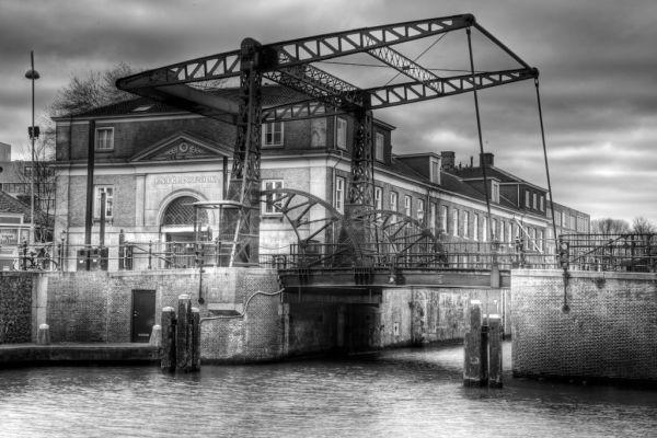A bridge over an Amsterdam canal