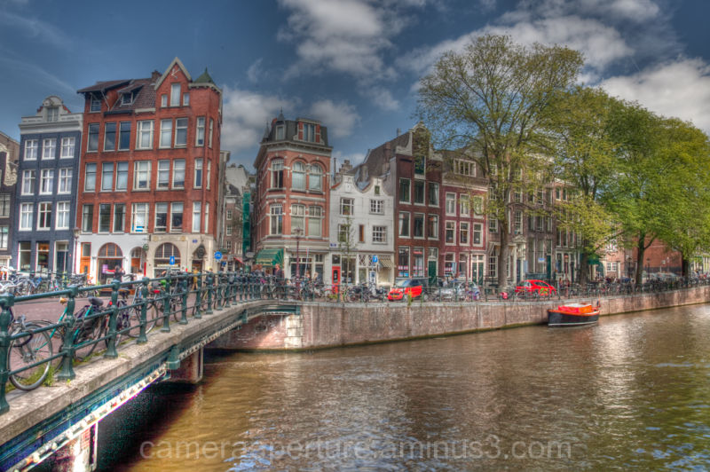 The Herengracht in the city of Amsterdam