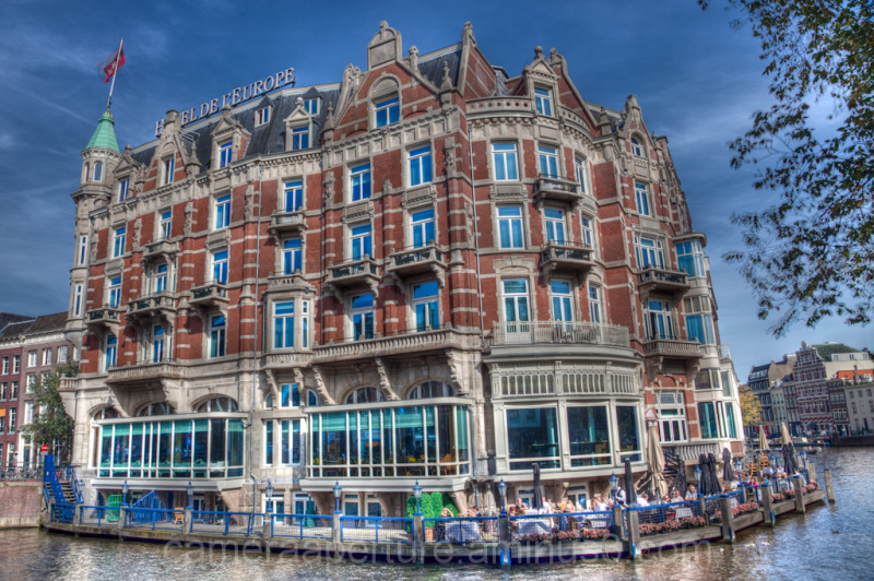 The Europe hotel in the city of Amsterdam