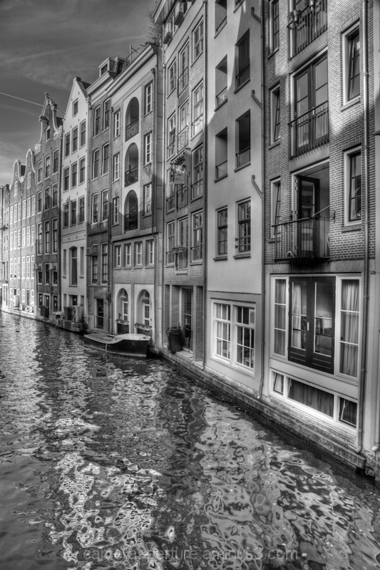 Canal side buildings