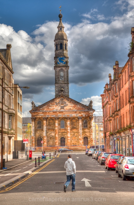 St Andrews church in Glasgow Scotland