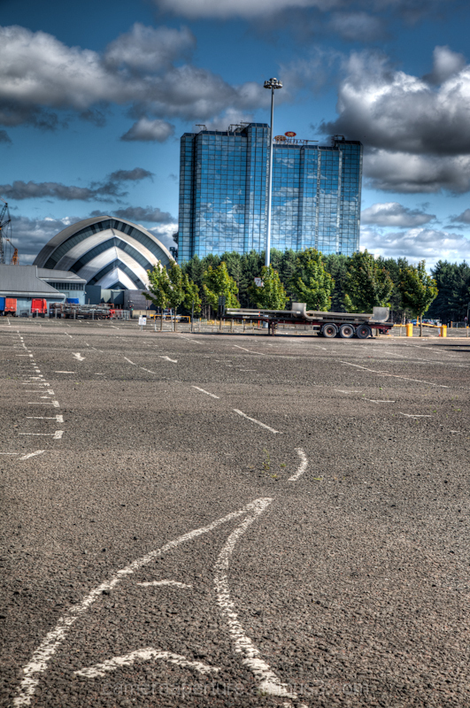 Exhibition center in the city of Glasgow