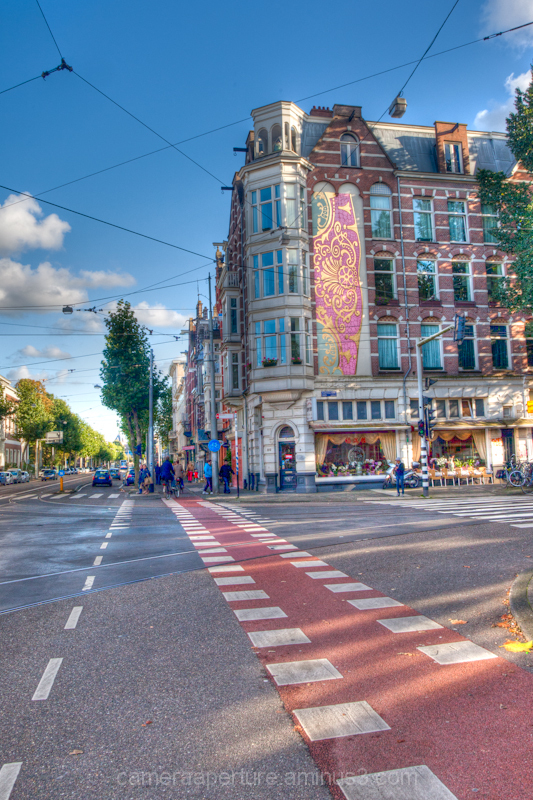 A street in the city of Amsterdam