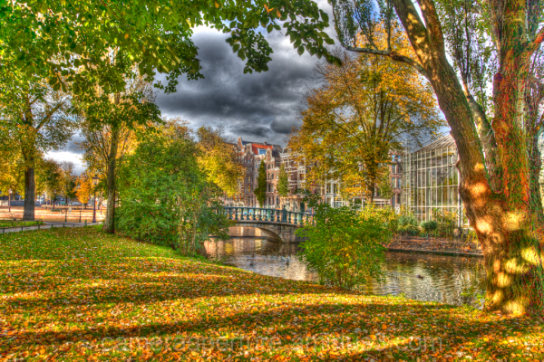 An Autumn day in Amsterdam