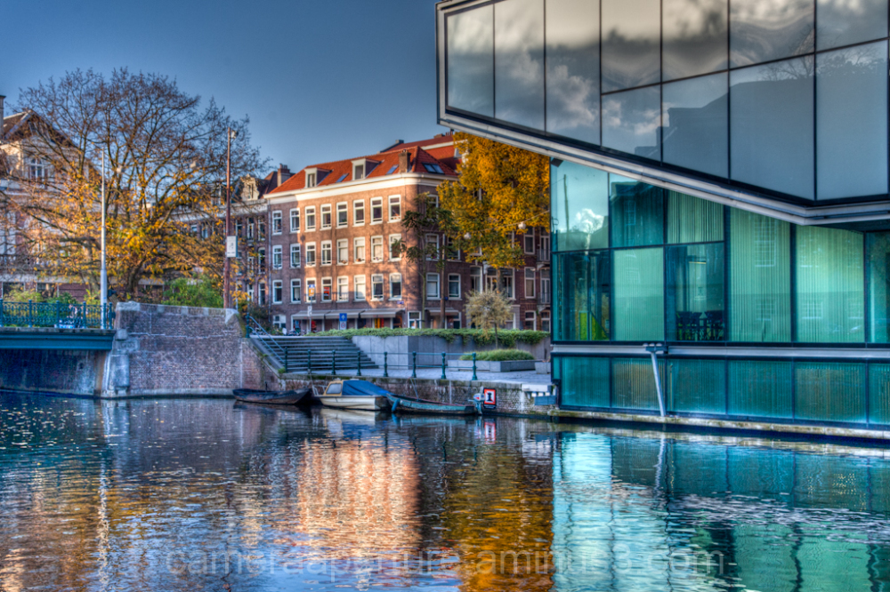 Business school in the city of Amsterdam