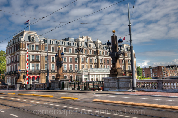 The Amstel Hotel in the city of Amsterdam
