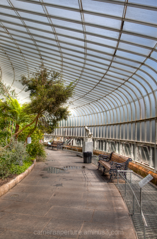 The Botanic Gardens in the city of Glasgow