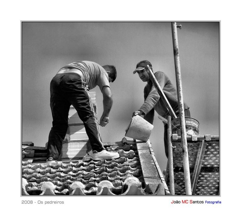 Os pedreiros