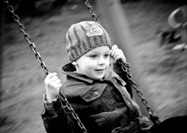 Swinging nephew