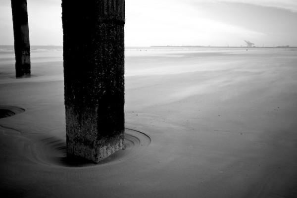 beach, sea, water, cold, wind, coast