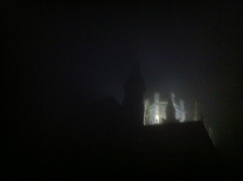 Ely Cathedral in a waft of mist