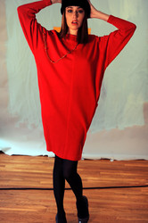 on set with Meagan Cignoli fashion photo shoot