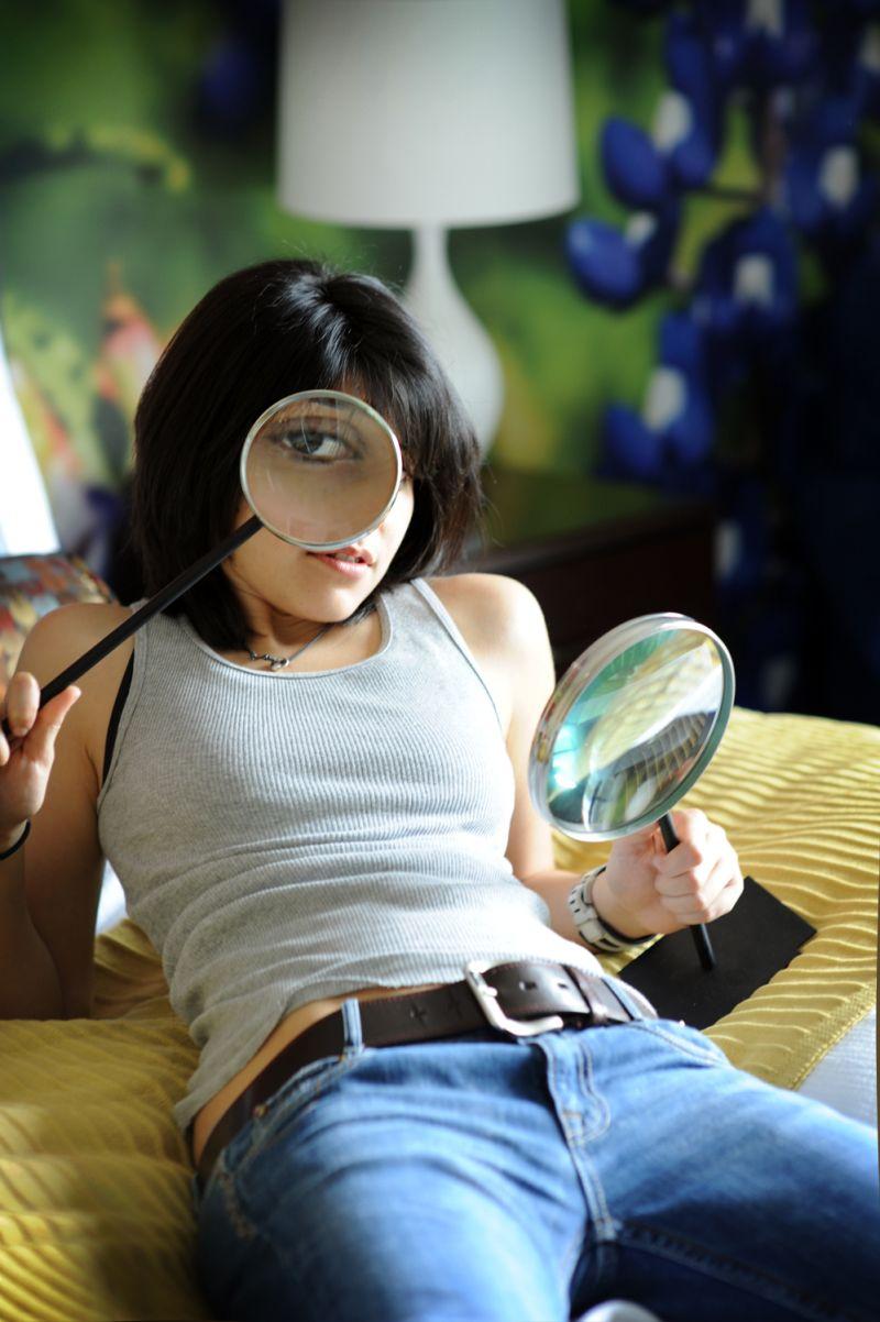 magnifying glass  image photo meagan cignoli