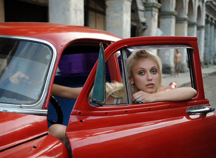 Fashion photographer Meagan Cignoli in Cuba