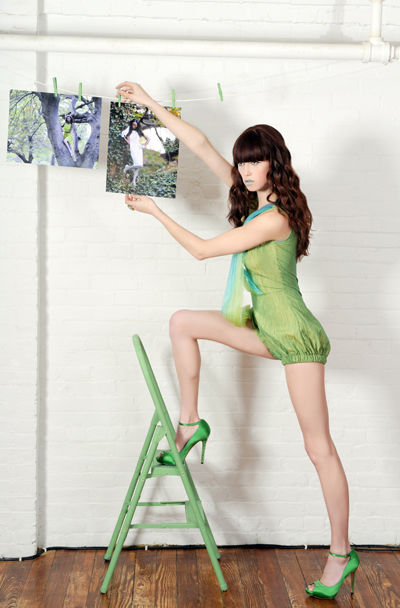 Monochromatic Fashion Spread Meagan Cignoli