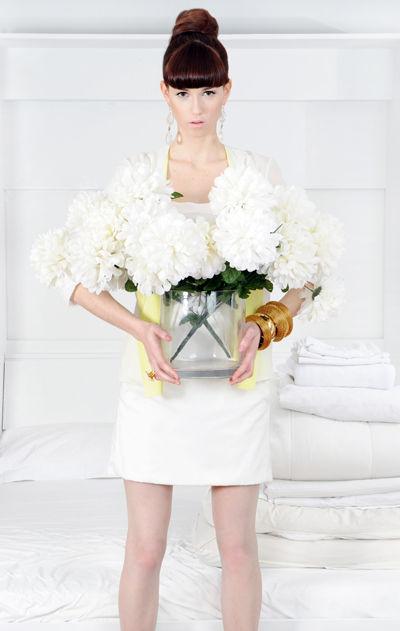 white modern minimalist fashion meagan cignoli