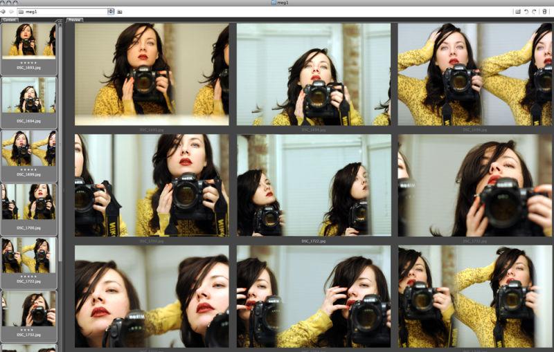 Meagan Cignoli screen shot, mac creative director