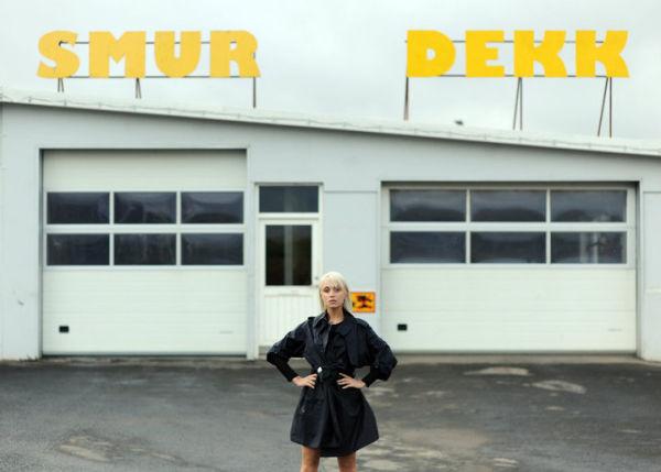 Meagan Cignoli in Iceland Fashion