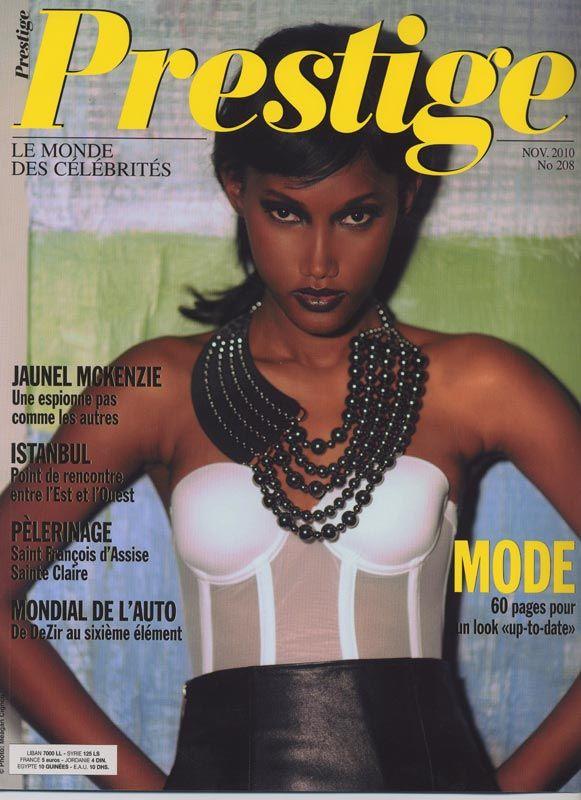 magazine cover meagan cignoli fashion supermodel