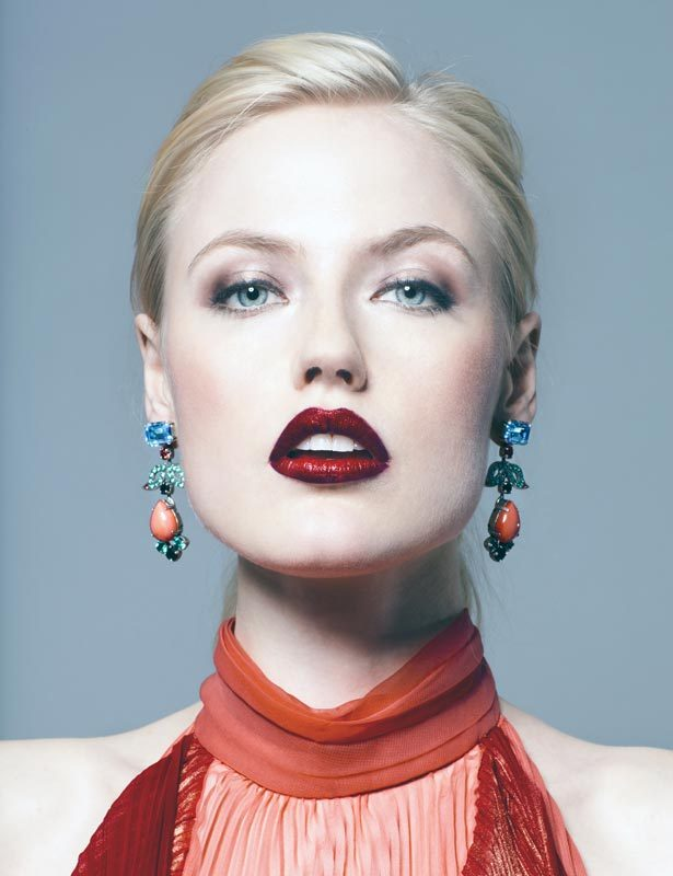 high fashion photograph of meagan cignoli