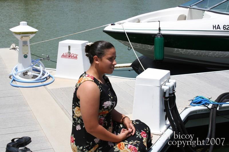 sittin on the pier