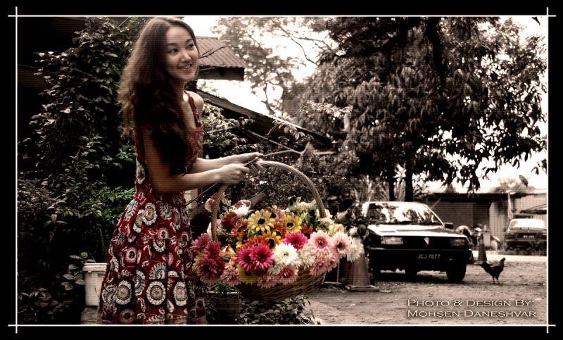 Old, Flower