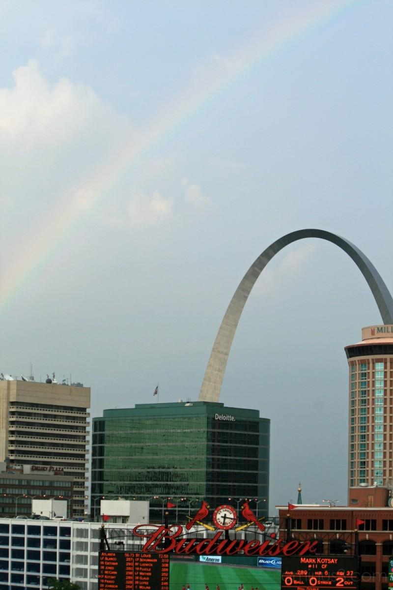 Rainbowed Arch