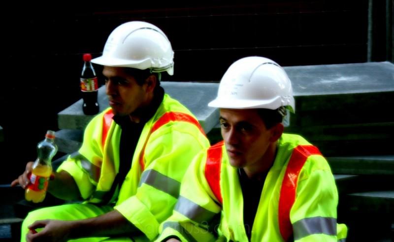 Workmen, Victoria Street