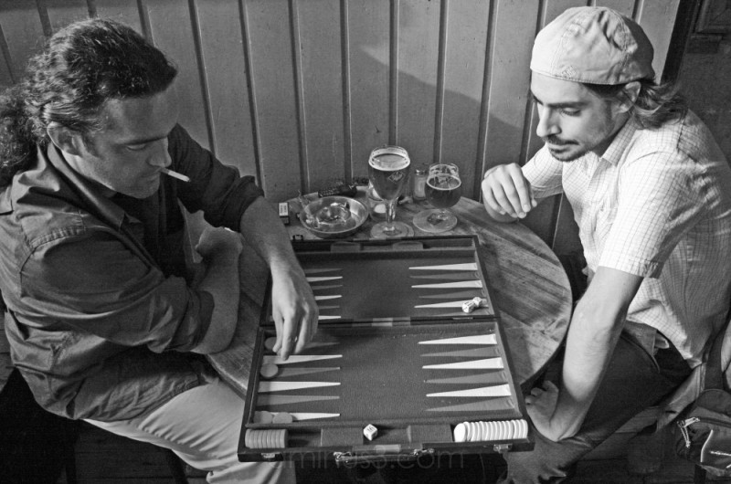 Backgammon, Amsterdam