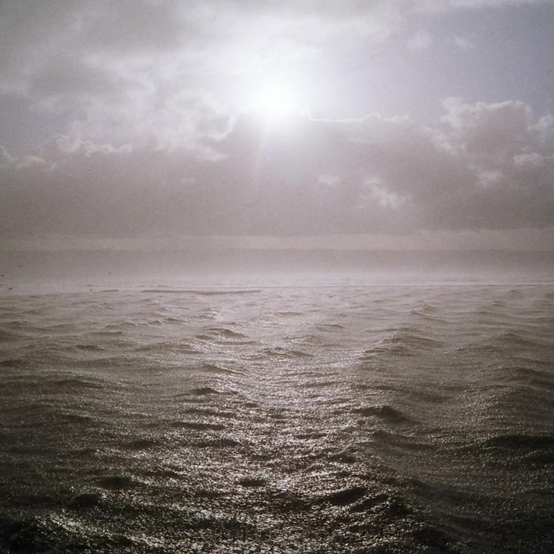 Hailstorm, Dee Estuary