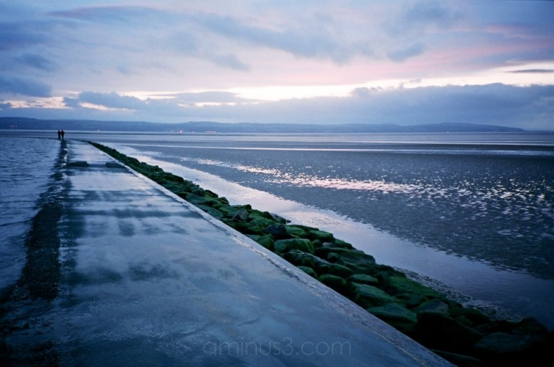 West Kirby Marine Lake Wall