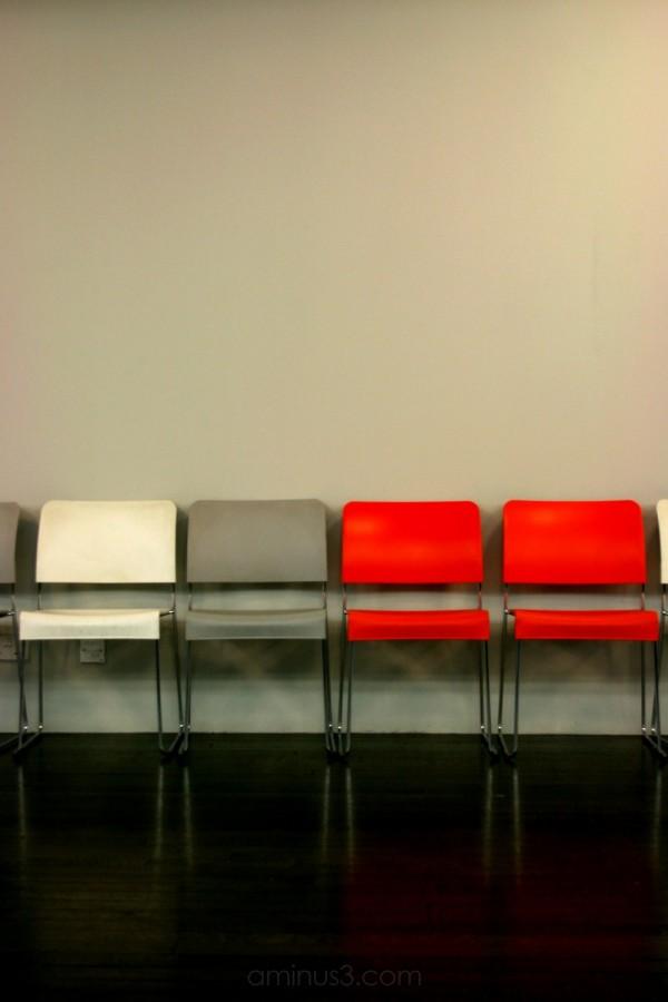 Chairs, Tate Modern