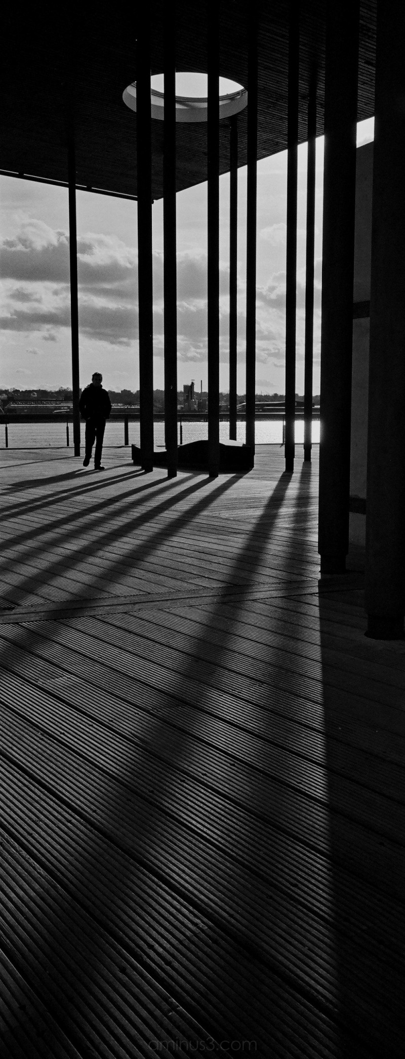Pavillion, Pontoon Dock