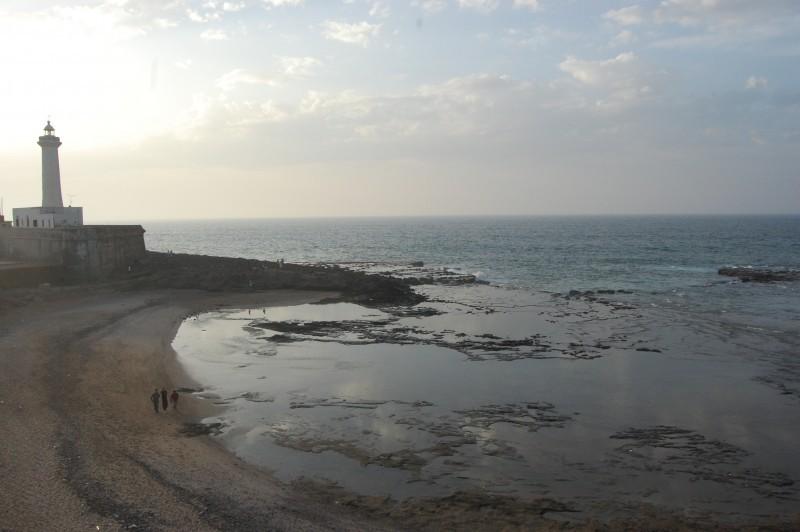 The Rabat lighthouse