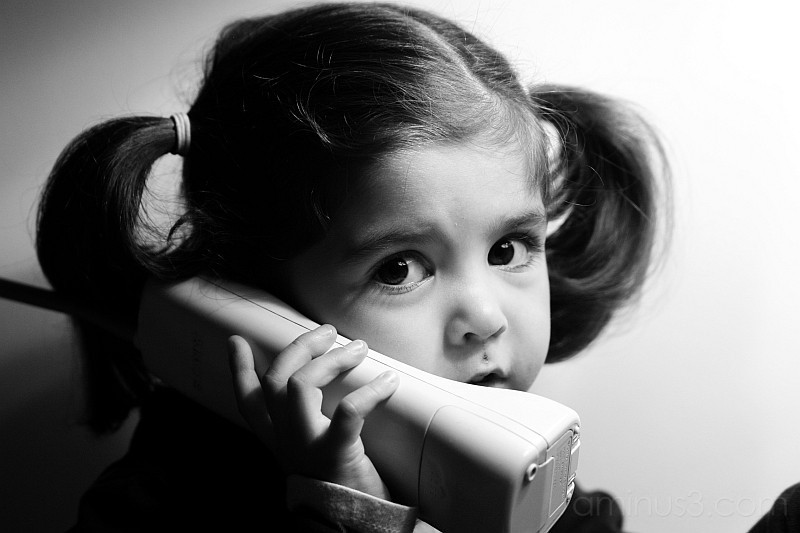 Camila on the phone