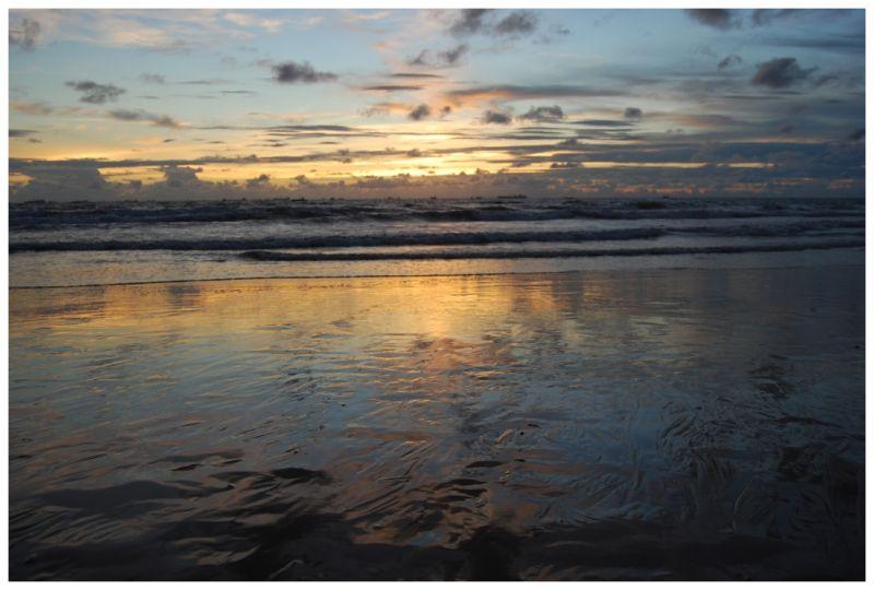 sunset @ goa