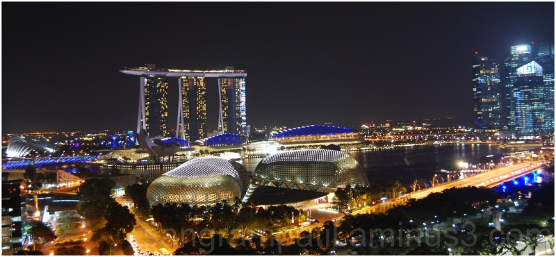 Singapore- city of lights..