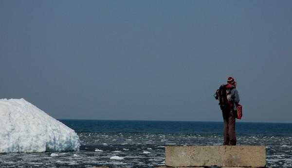 looking at Baikal