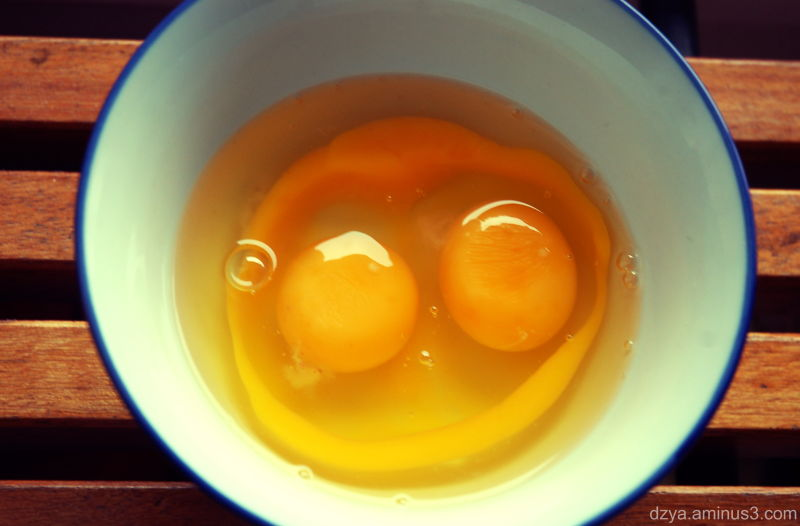 look! the eggs are smiling at you!