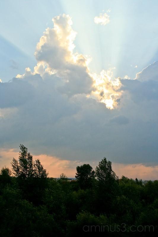 clouds clearing visgorod ukraine