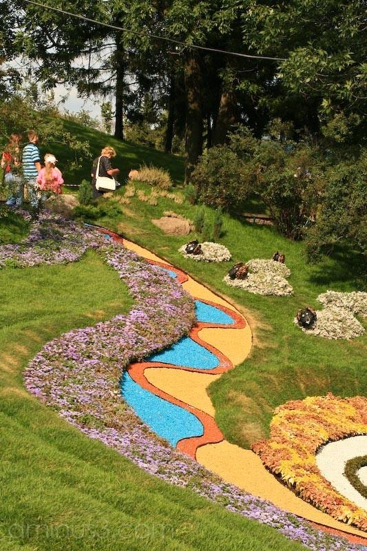 Floral arrangement kiev perchersk landscape park