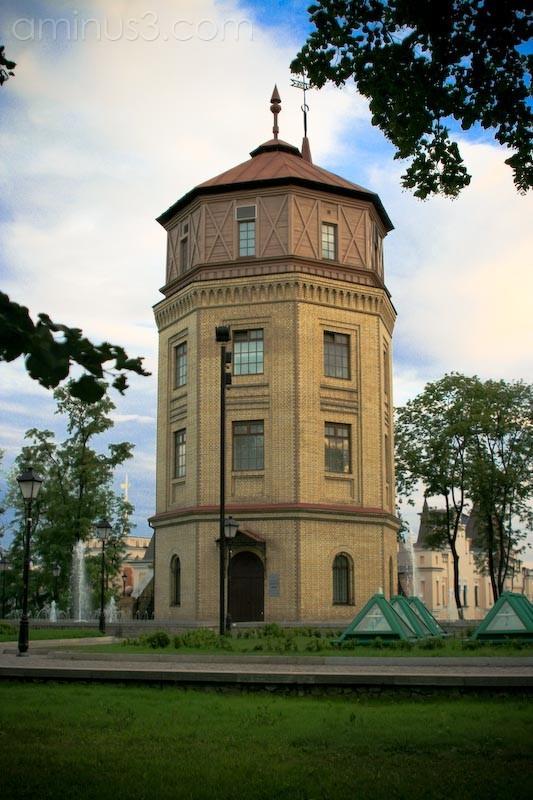 12 Days of Kiev - Water Tower of 1877.